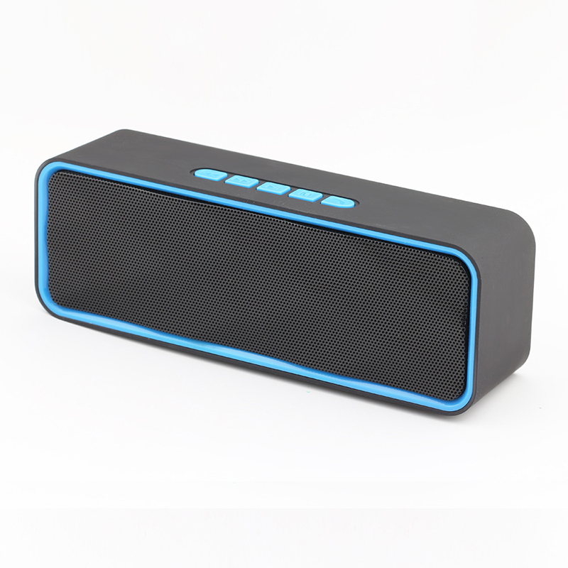 Thinyou Wireless Mini Bluetooth FM Speakers Outdoors Hands Free Speaker TF Card USB Stereo Music Sound Box For Phone PC