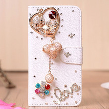 Buy Luxury Handmade Diamond Cover Doogee X5 Pro Flip Case Doogee X5 Wallet Shell Bling Rhinestone Phone Bags for $8.19 in AliExpress store