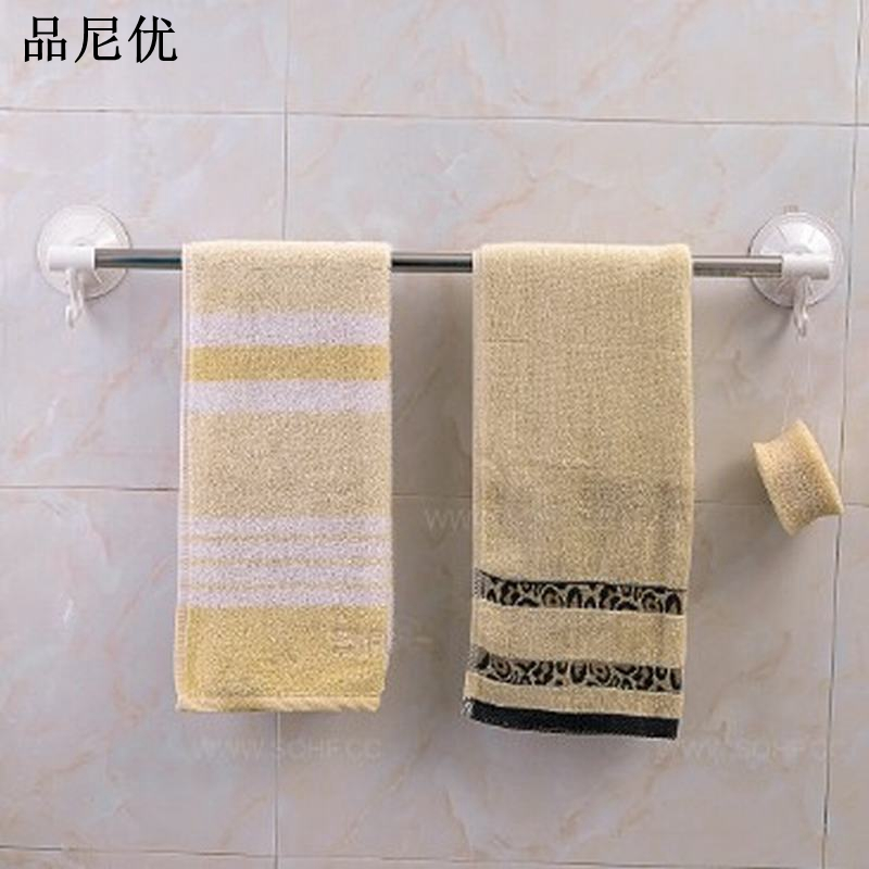 European bathroom towel bar 40cm stainless steel wall hanger towel rack suction hooks bathroom accessories towel rail(China (Mainland))