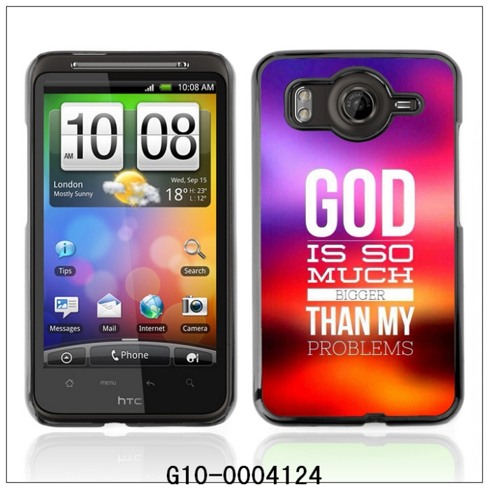 GOD IS MUCH BIGGER-FOR HTC Desire HD G10 Plastic Hard Back Case Cover Shell (G10-0004124)(China (Mainland))