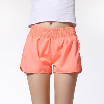 Shelikeit 2016 Wholesale Summer beach Running shorts for womens thin Quick-Drying Elastic Waist Candy Colors plus size shorts