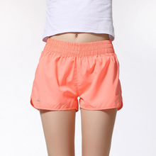 Shelikeit 2016 Wholesale Summer beach Running shorts for womens thin Quick-Drying Elastic Waist Candy Colors plus size shorts(China (Mainland))
