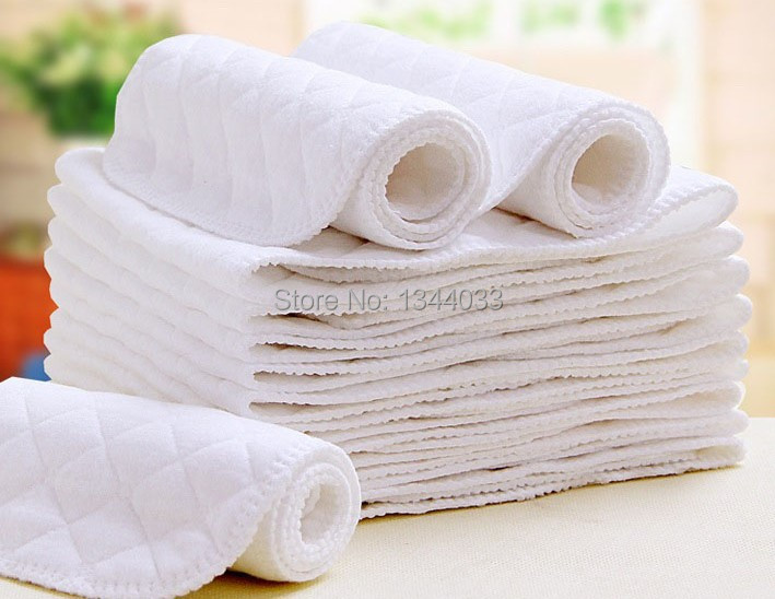 Super absorbency High quality newborn infant diaper baby diapers washable reusable disposable cotton diapers 3pc/lot(China (Mainland))
