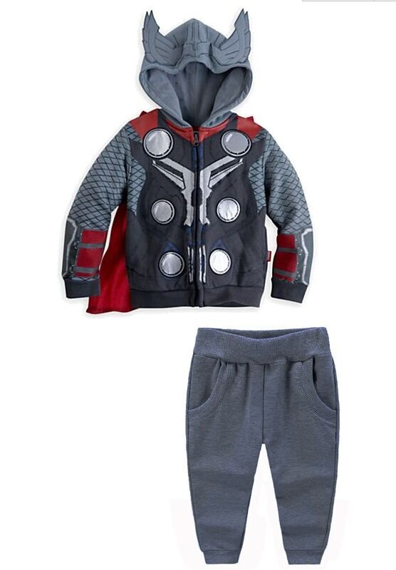 The Avengers Clothing Set For Boys Children's Sport Set Super Hero Iron man Boy's Casual Coats + Pants Boys Long Sleeve Cotton(China (Mainland))