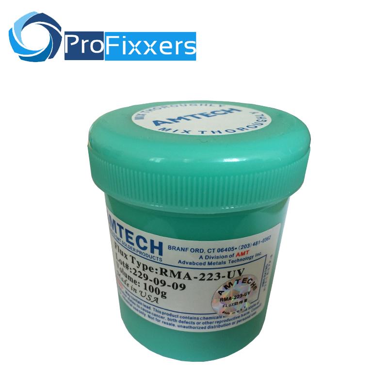 Best Price Welding Paste soldering for BGA Reballing Grease Soldering Solder Flux AMTECH RMA-223-uv 100g soldering paste(China (Mainland))