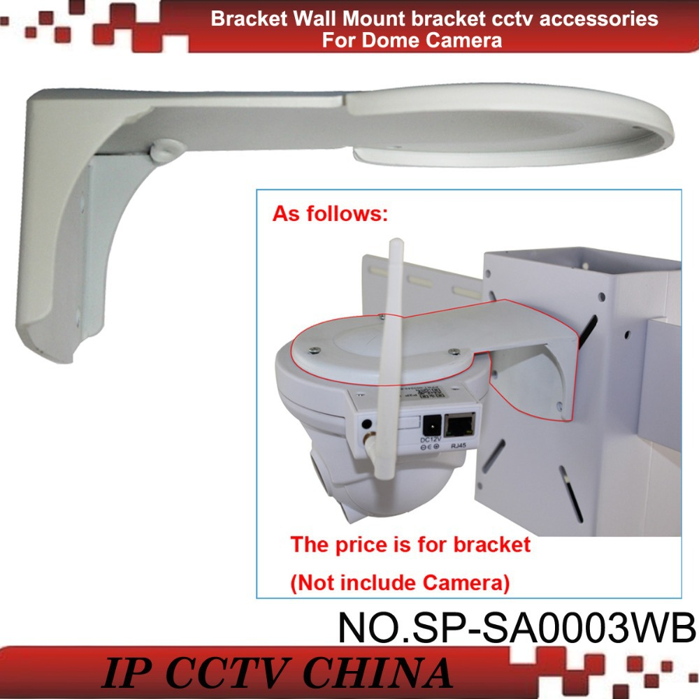 SunEyes  SA0003WB CCTV Wall Mount Bracket for Dome Camera Alloy Material White Color<br><br>Aliexpress