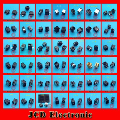 1 lot /43 Model /86pcs Widely Using Laptop Power DC Jack Connector, Socket(China (Mainland))
