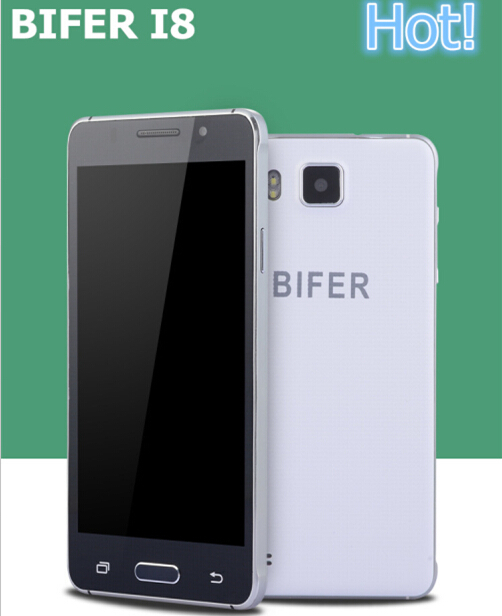 Original Smartphone BIFER i8 Mobile Phone MTK6592 Octa Core 4GB RAM 16GB ROM 1080P Android 4.4 13MP Camera Unlocked Cell Phone(China (Mainland))
