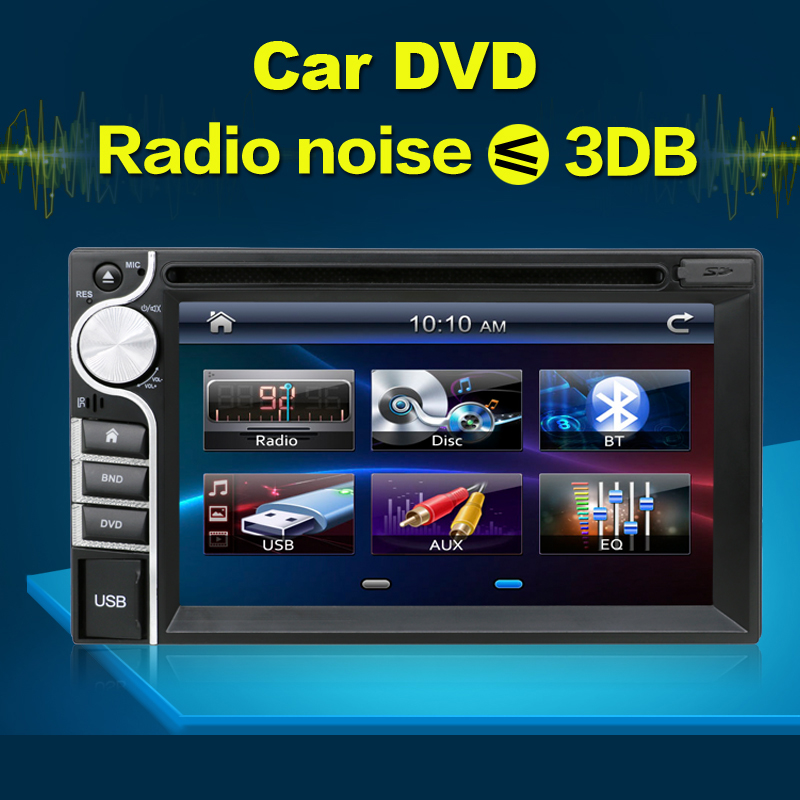 2016 new 2 DIN Car DVD Player without GPS Double Radio Stereo In Dash Radio Transmitter MP3 Head Unit CD parking Video Audio(China (Mainland))
