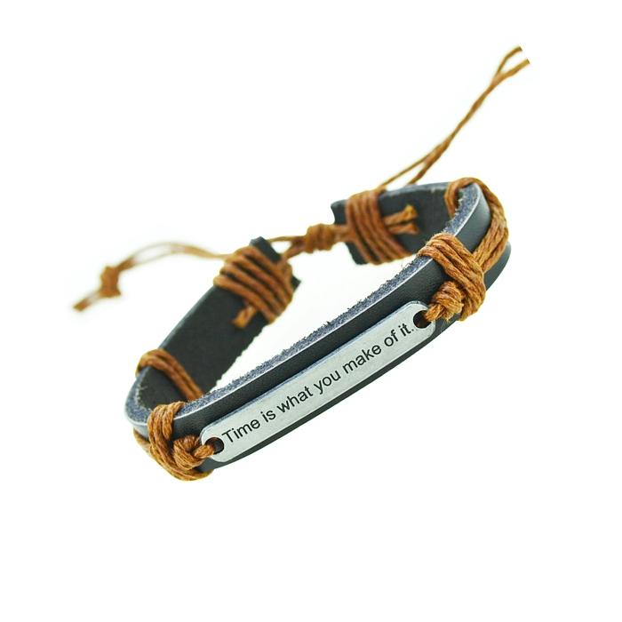 Genuine Leather Bracelets Charm Bracelet Men Bracelets for Women Wristband Bracelet Jewelry