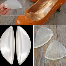Silicone Gel Arch Support Shoe Inserts Foot Insole Wedge Cushion Pads Pain  05U3(China (Mainland))