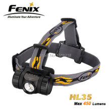 2015 New Fenix HL35 Headlamp Free shipping two AA (Ni-MH/Alkaline) or 14500 Li-ion batteries(China (Mainland))