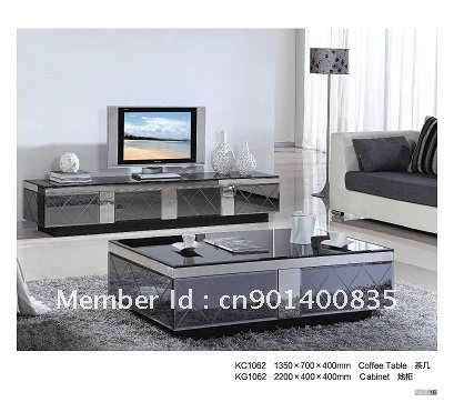 Tv fm tuner card picture more detailed picture about tv stand with coffee table modern style Coffee table tv stand set