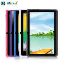"Irulu eXpro X1 7 "" Tablet PC 8 GB ROM Android 4.4 Quad Core 1024 * 600 HD de doble cámara de apoyo Google Play WIFI bluetooth Tablet(China (Mainland))"