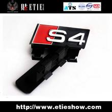 2014 Oil Type Tips New Arrival Tail Car Covers S4 Grille 3d Logo Sticker\3d Sticker/3 M Back Glue/door-to-door Delivery(China (Mainland))