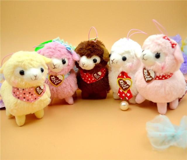 1 шт. плюшевые игрушки животных альпака мягкой и чучела животных куклы 12 см