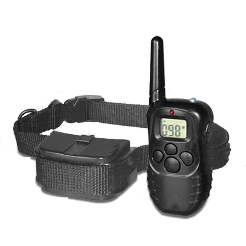 Free by DHL 5PC 300 Meters Remote Pet Training Collar With LCD Display For 2 Dog PET Without battery Electronic training collar(China (Mainland))