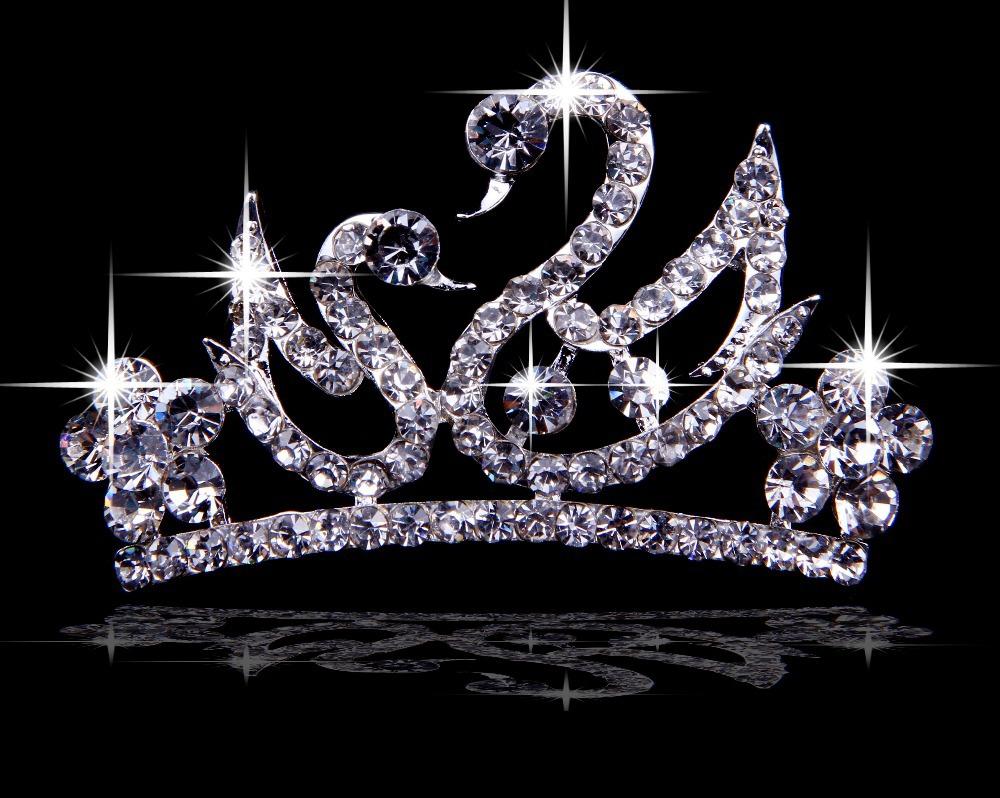 Romantic Wedding Gift For Bride : Diamante Rhinestone Crown For Wedding Party Bride Gift Romantic ...