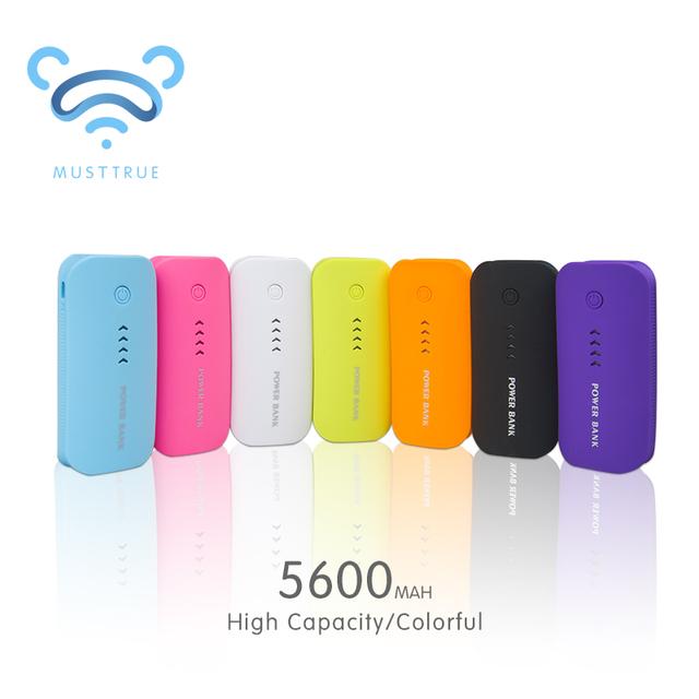 Зарядное устройство 18650 5600 мАч USB внешние мобильные резервного копирования и переносной зарядное устройство Powerbank аккумулятор для мобильного телефона iPhone универсальное зарядное устройство