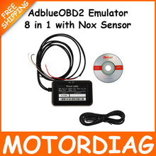 10pc Ad Blue 8 in 1 Emulador de Adblue Emulator for Truck with nox sensor For Volvo Renault Ford etc OBD2 Scanner Truck(China (Mainland))