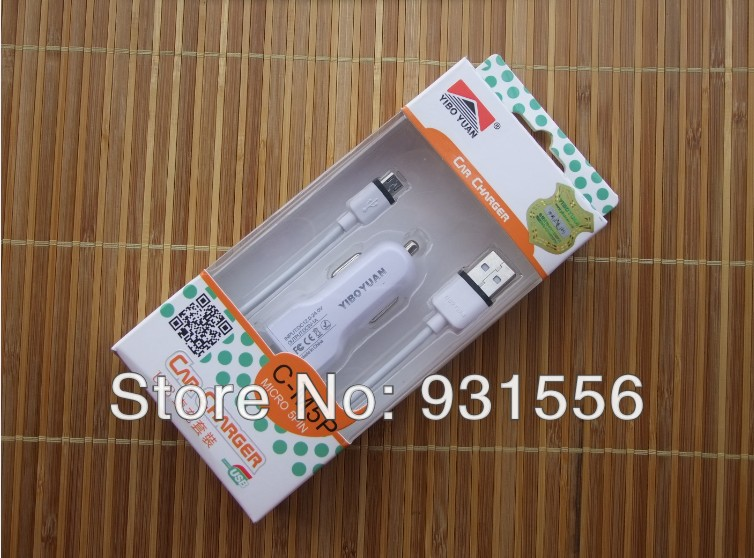 5V 1A Micro USB Car Charger for Amoi A862W A928W A860W A900W A920W N828 A865W Famous Brand Security assurance with Retail Box(China (Mainland))