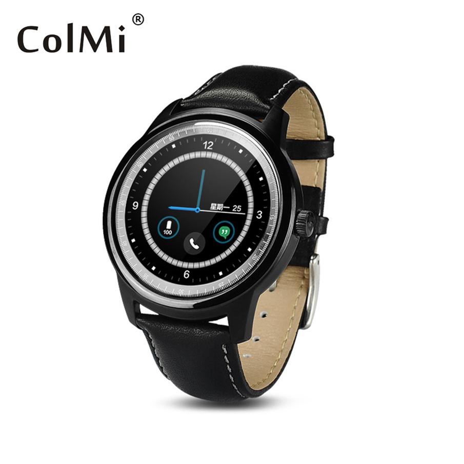Colmi Смарт-часы VS35 полный круг IPS экран часы MTK2502c Bluetooth подключения Apple, в Samsung Телефон для iPhone андроид smartwatch