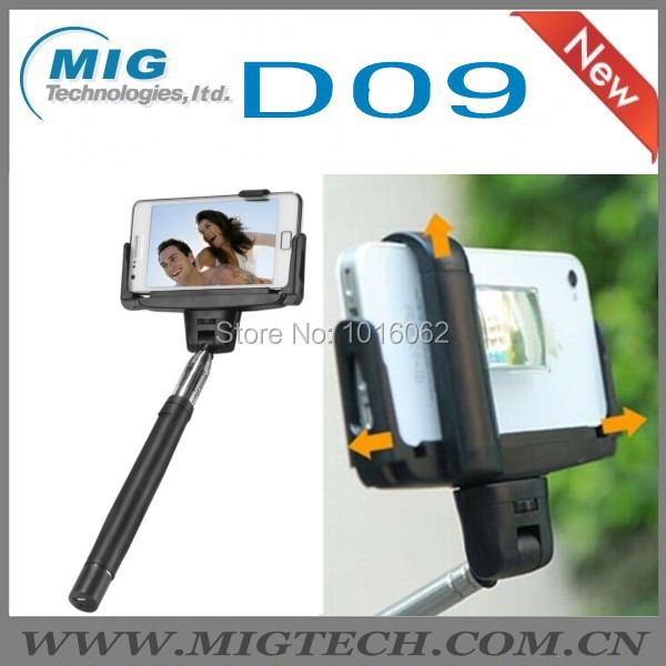 Freeshipping 1 selfie monopod D09 mirror bluetooth shutter, wireless camera/mobile phone - MIG Technology store