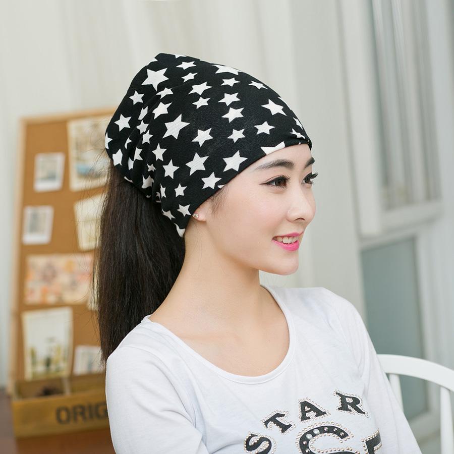 1 Piece Winter Autumn Crochet Baby Hat Girl Cap Unisex Beanie Star Women Cotton Knitted Hat 3 Usages Children Scarf Headband(China (Mainland))