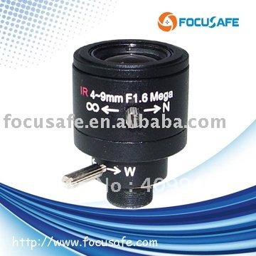 Mega Pixel Board Mount Lens Varifocal Auto Iris 4-9mm CCTV - Fuzhou Focusafe Optoelectronic Technology Co., Ltd. store