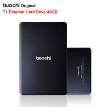 Free shipping TWOCHI T1 Original 2.5'' External Hard Drive 40GB  Portable HDD Storage Disk(China (Mainland))