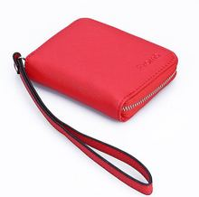 Fashion Leather Women Wallet Cross Pattern Purse for Women Women's Wallets Clutch Lady's Female Handbags Card Holder Money Bag