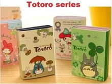 New Fashion Japan Totoro series Notepad/Sticky note/Note Memo Pads/Writing scratch pad /Stationery school supplies retail