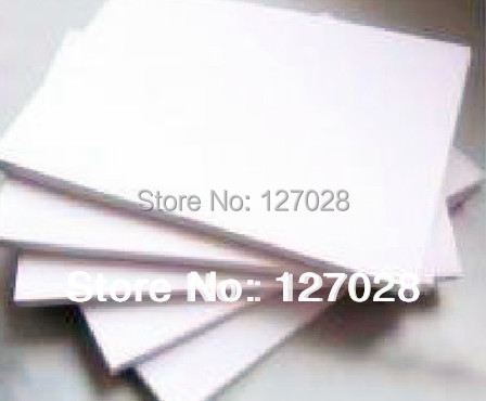 100pcss/lot A4 SIze White Sublimation Paper Transfer Paper Thermal Transfer Paper for Mugs Phone Cover T-Shirt Plates Printing(China (Mainland))