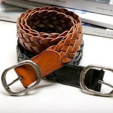 Fashion Finishing Retro Women's Wide Strap Belt Decoration Vintage Mens Belts Designer Black Brown Color