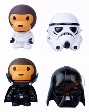8 inch 20cm Bape x Star wars Baby Milo Ape Aape Darth Vader & STORM TROOPER retail box - No.1 Fashion Toy Factory feedback (399 store oders (897))