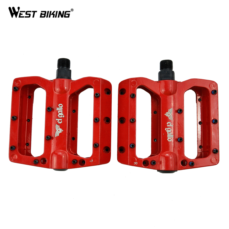 High Strength Aluminum Alloy Bicycle Pedals Sealed Bearing Ultralight Pedales Bicicleta MTB Bike Pedal Cycling Pedals Bici