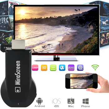 MiraScreen OTA TV Stick Dongle TOP 1 Chromecast Wi-Fi Display Receiver DLNA Airplay Miracast Airmirroring Google Chromecast
