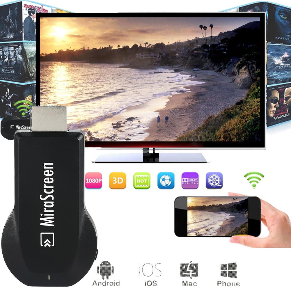 MiraScreen OTA TV Stick Dongle TOP 1 Chromecast Wi-Fi Display Receiver DLNA Airplay Miracast Airmirroring Google Chromecast(China (Mainland))