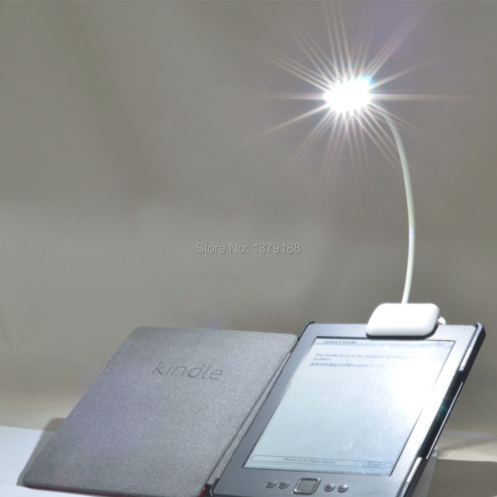 Newest Book light Lamp 3 LED E-reader Clip with Flexible Arm For kindle Tolino Pocketbook for Sony EBook Reader Free shipping(China (Mainland))