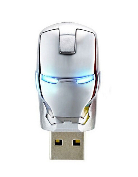 Iron Man 8GB/16GB flash drive