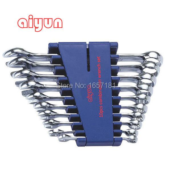 10pcs/set combination Wrench set (Metric) combination spanner set
