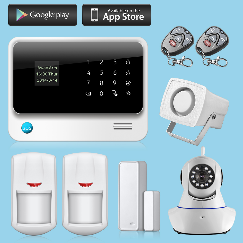 Buy wifi alarme maison wireless gsm home for Alarme gsm maison