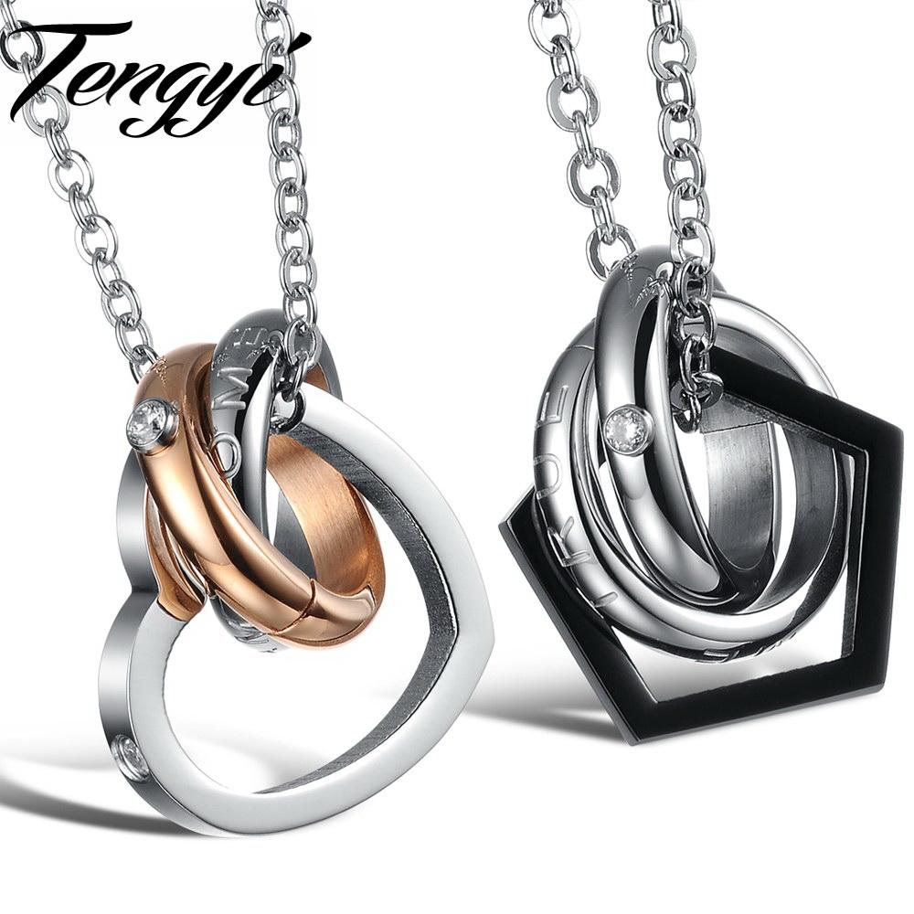 Fashion Men Stainless Steel Pendant Necklace Black Color one pcs price Couple pendant 777(China (Mainland))