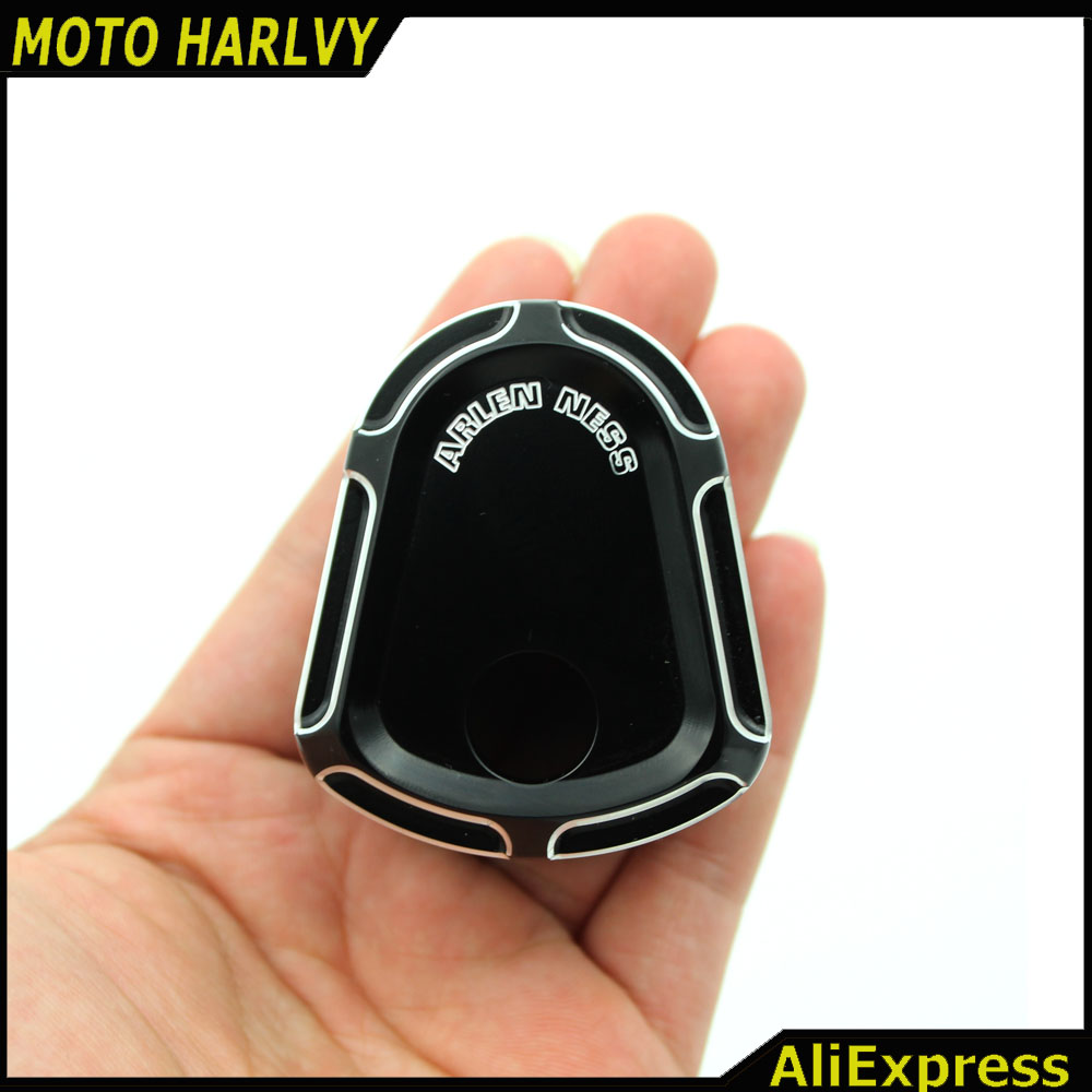Burst Black Deep Cut Ignition Switch Cover Harley Touring Road Glide 07 08 09-13 Parts(China (Mainland))