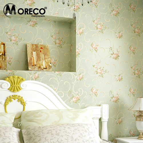 Moreco Vintage Warm Pastoral Style Wallpaper Home Decor