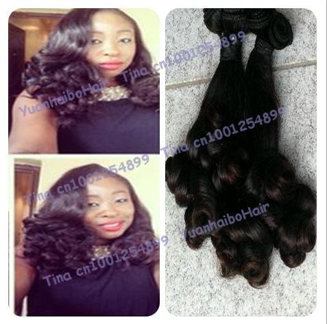 Hot Sale Best 6A quality 3pcs/lot #1b virgin human hair tip spanish curls peruvian funmi hair weaves free shipping<br><br>Aliexpress