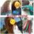 10Pcs/Set Soft Hair Curler Roller Curl Hair Bendy Rollers DIY Magic Hair Curlers Tool Styling Rollers Sponge Hair Curling #23175