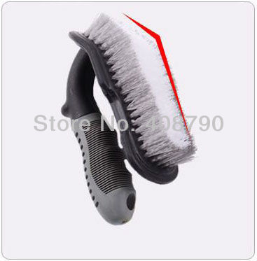 Free shipping High-quality Special nylon AUTO Car Tire Brush Floor Mat Brush Household Carpet Brush
