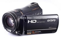 1920*1080P@30fps Full HD camcoder Digital Video camera 12X Optical zoom 20MP home use video camera high level recorder D320(China (Mainland))