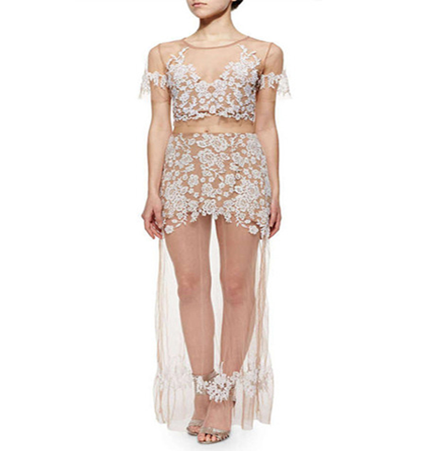 Style No.TP385 sexy see through lace two piece dressОдежда и ак�е��уары<br><br><br>Aliexpress